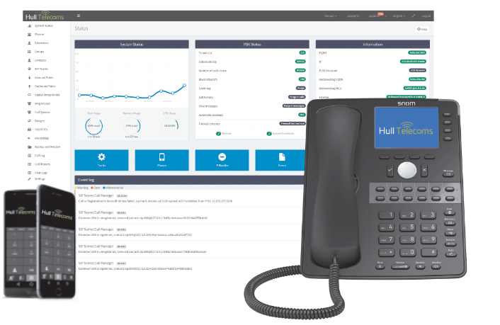 phone system, Telephony, Cloud Phone System , PBX, Hull Telecoms Cloud Phone system. Broadband, PBX Business Phone System